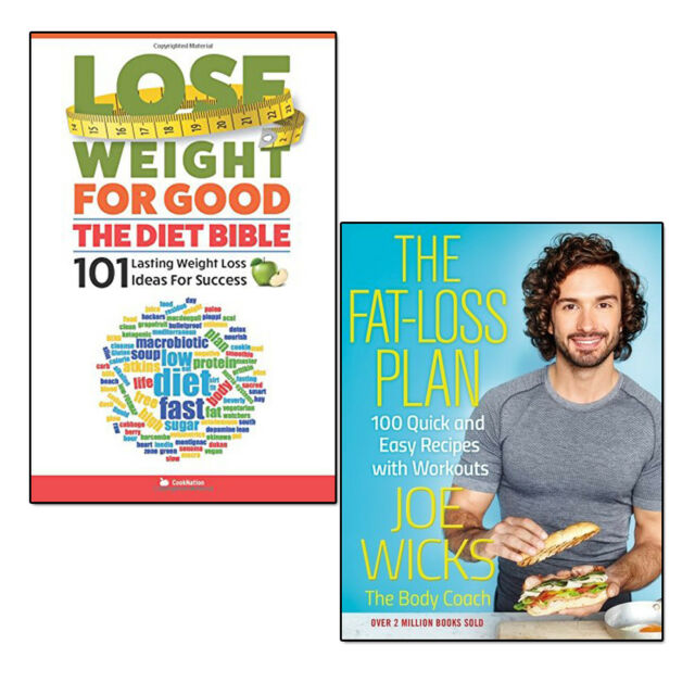 Joe Wicks The Fat Loss Plan Lose Weight For Good 2 Books Set Diet