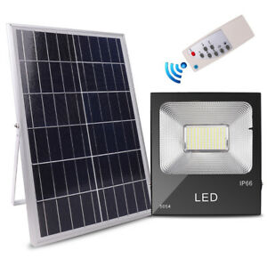 Ip66 100 150w Solar Rechargeable Led