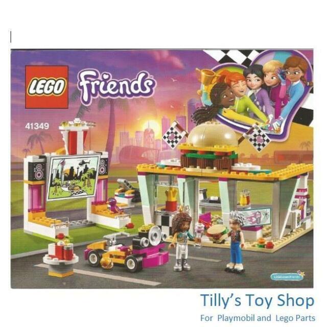 Lego Friends 41349 Drifting Diner For Sale Online Ebay