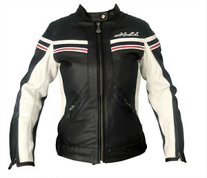 50% price stable quality new york Details zu Held Jolin Damen Lederjacke Retro Sportjacke Vintage Damenjacke  Gr. 38 40 42 44