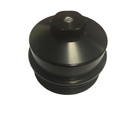 08-10 6.4L Ford Powerstroke Billet Fuel Filter Cap /& Fuel Pressure Gauge 3430