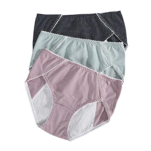 Menstrual Panties Women Leak Proof Incontinence Underwear Period Proof Briefs