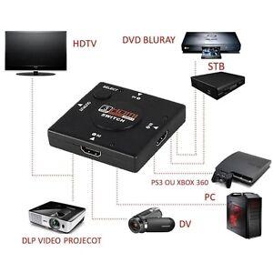 SWITCH-HDMI-TRIPLO-3-PORTE-FULL-HD-TV-PRESA-MULTIPLA-HUB-ADATTATORE-SDOPPIATORE
