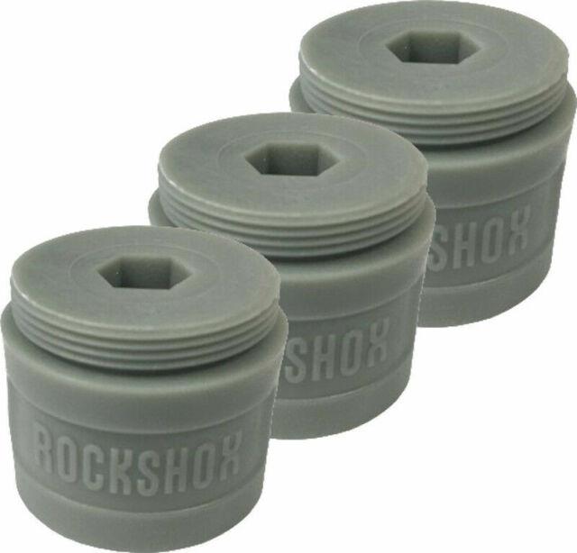 RockShox 35mm Bottomless Tokens Grey (2 Pack)