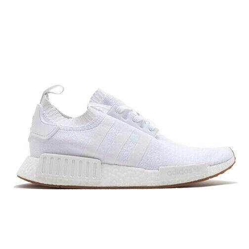 Size 10.5 - adidas NMD R1 Primeknit White Gum 2017 for sale online   eBay