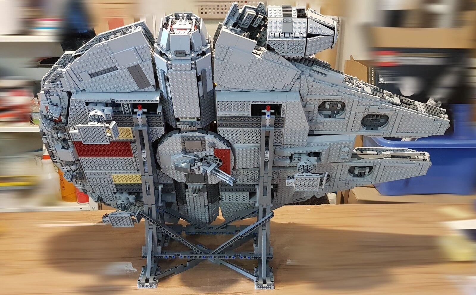 KIT Lego  Dark Grigio bluastre  stand verticale per Millennium Falcon 75192-NUOVO
