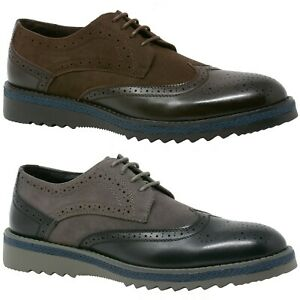 Alpine-Swiss-Alec-Mens-Wingtip-Shoes-1-5-Ripple-Sole-Leather-Insole-amp-Lining