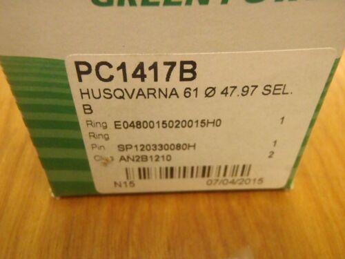 Meteor piston kit for Husqvarna 61 48mm Italy non-windowed