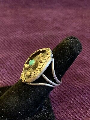 vintage jewelry turquoise rings turquoise jewelry Native american turquoise ring and sterling silver turquoise vintage rings