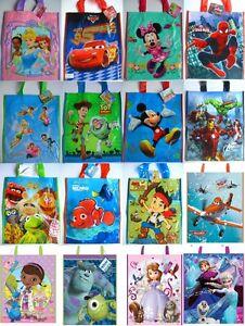 Pack-De-12-Disney-Personaje-Ninos-Regalo-de-Cumpleanos-Bolsa-Fiesta-Lote-Bolsas