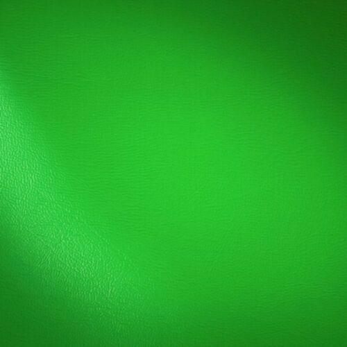 weiches Möbel POLSTER KUNSTLEDER 140cm breit GRAS GRÜN Preis pro Meter NEU