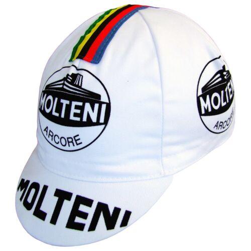 Mütze Molteni Team Eddy Merckx Vintage Bike Tour De France Retro Cycle