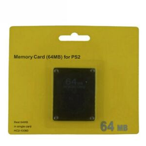 New-64MB-Memory-Save-Card-For-PlayStation-2-PS2-Console-Game-N5E5
