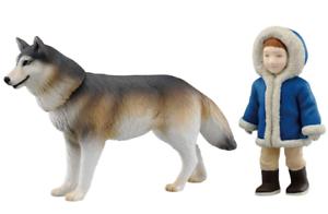 TAKARA TOMY Animal adventure Ania AS-26 Wolf with boys Japan import NEW
