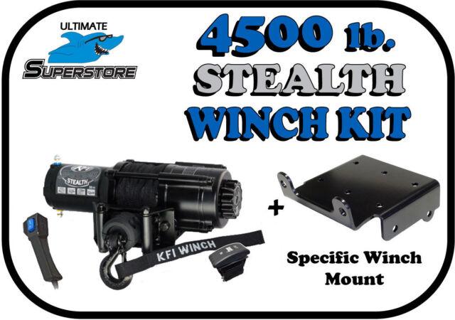 3500lb Mad Dog Synthetic Winch//Mount Kit 1993-2000 Honda Fourtrax 300 2x4 /& 4x4