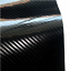 PELLICOLA-ADESIVA-LUCIDA-WRAPPING-CARBONIO-5D-TERMOFORMABILE-AUTO-MOTO-50x150cm miniatura 1