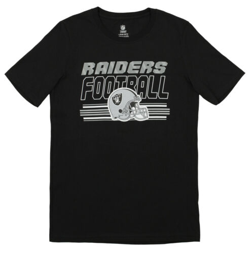 Outerstuff NFL Youth Oakland Raiders Team Color Short Sleeve Tee