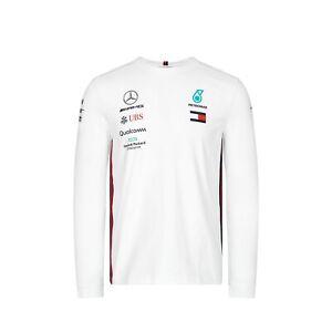 1195287d9ec Mercedes AMG Petronas Motorsport 2019 Men's Team Long Sleeve T-Shirt ...