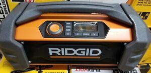 68820774fa6 Image is loading Ridgid-GEN5X-18-Volt-Jobsite-Radio-Bluetooth-Wireless-