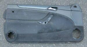Mercedes-W208-CLK-Tuerpappe-Tuerverkleidung-Stoff-Carbon-Vorne-Links-VL-Original