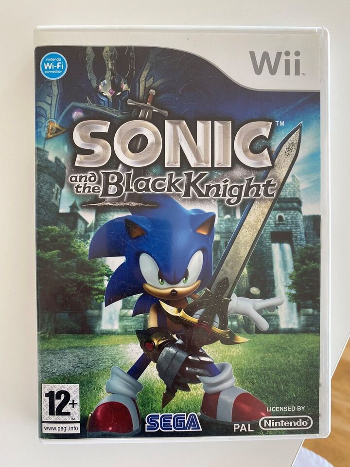 Sonic and the Black Knight, Nintendo Wii, action