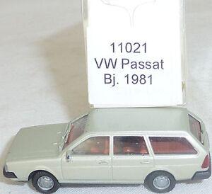 Metallic-vw-passat-BJ-1981-Mesureur-EUROMODELL-11021-h0-1-87-OVP-ho1-a