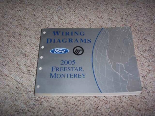 2005 Mercury Monterey Electrical Wiring Diagram Manual ...