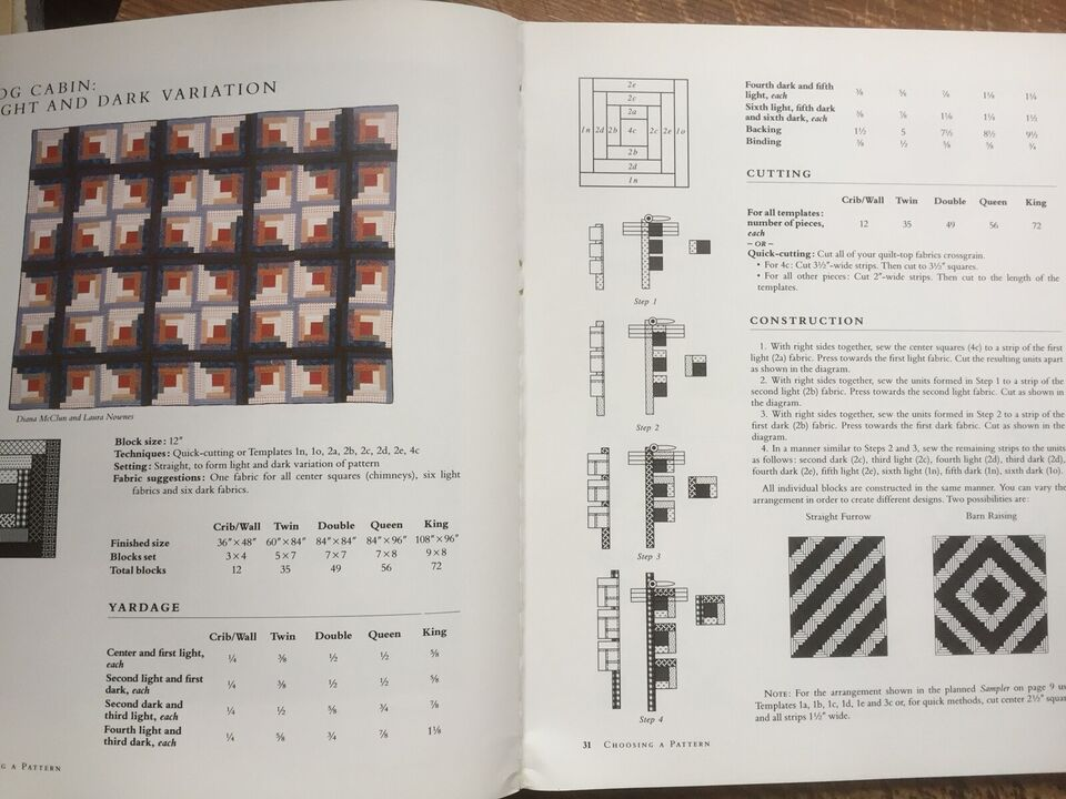Quilts! QUILTS! - The Complete Guide, McClun & Nownes,