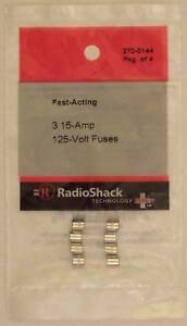 QUALITY USA BRAND! 5x GMA 15A 125v Glass Fast Acting Cartridge Fuse 5x20mm