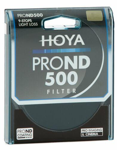 52 77 Hoya pro nd500 filtro 46,49 58 67 62 72 82mm 9 stops ND 55