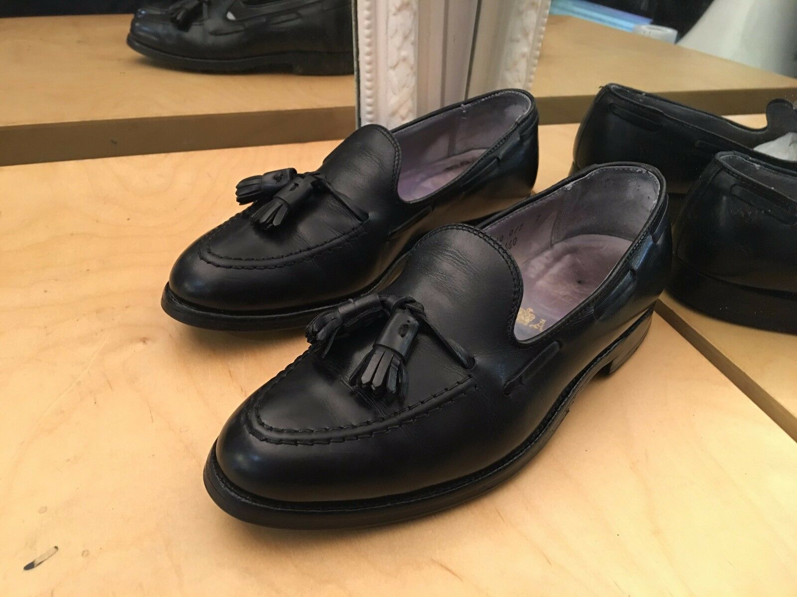 Rare Alden  Shoes Shoes Shoes Loafers Mocassins Size 6.5 B/D ( EU 40 ) Made in U.S.A 4cfbf7