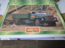 Super Trucks Mehrzweck LKWs Schweden Scania L110, 1970
