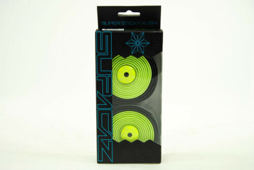Supacaz Super Sticky Kush Road Bike Handlebar Tape Star Fade Neon Yellow//Black