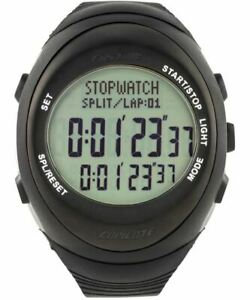 AST-Fastime-Rally-RW3-Co-Driver-Wrist-Watch-Stopwatch-Black-Case-Grey-Display