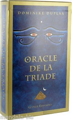 Oracle de La Triade (Oracle of the Triad) Divination, 57 Cartes avec Livret