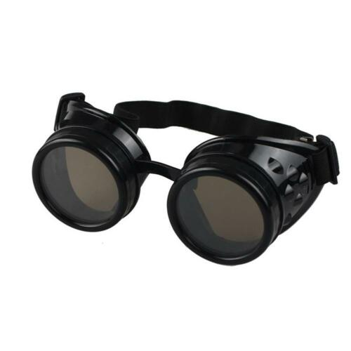 meilleur Cyber Goggles Lunettes Steampunk Vintage Rétro Soudure Punk Gothique