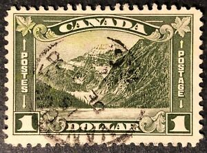 CANADA-1930-177-1-00-KING-GEORGE-V-ARCH-LEAF-ISSUE-CDS-CANCEL-VANCOUVER
