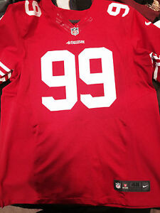 811d43bae08 Image is loading AUTHENTIC-San-Francisco-49ers-Aldon-Smith-Nike-Scarlet-