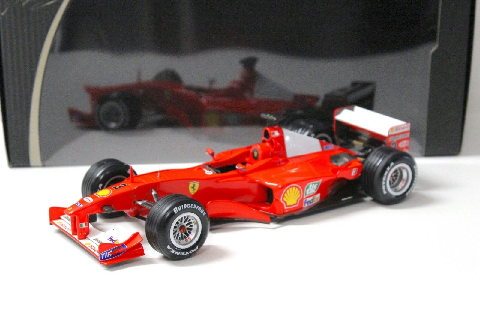 1 18 Hot Wheels Elite Ferrari F1-2000 Schumacher Japan GP bei PREMIUM-MODELCARS
