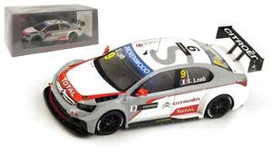 Sebastien Loeb Winner R1 Slovakia Ring 2014 Spark Citroen C-Elysee WTCC