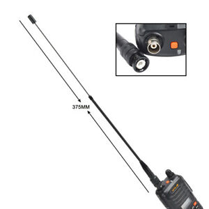144-430MHz-UHF-VHF-Walkie-Talkie-Two-Way-Radio-SMA-Female-Telescopic-Antenna