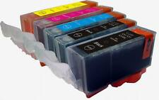 Edible Ink Cartridges PGI220-CLI221 Canon Set PIXMA iP3600 iP4700 MP640 W/CHIPS
