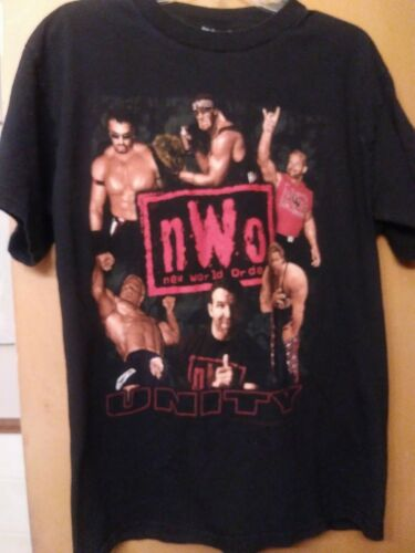 Vintage WWE NWO T-shirt / Hulk Hogan. Hall and Nas