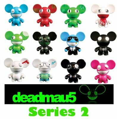DEADMAU5 SERIES 2 MINI COLLECTIBLE NEW OFFICIAL BLIND BOXED RARE 12 TO COLLECT