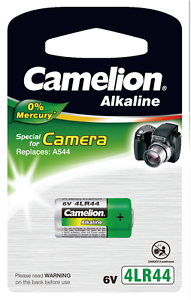 10-x-4lr44-Camelion-Alkaline-6v-v4034px-2cr1-3n-v28pxl-a544-l1325-gp476a-537