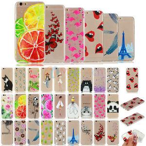 Vogue-MDHX-Design-Soft-TPU-Case-Cover-For-Apple-iPhone-6-6S-7-Plus-5S-5-SE
