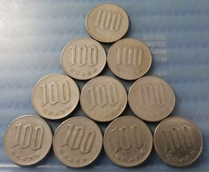 1968-Japan-Year-43-Hirohito-Showa-100-Yen-100-Flower-Coin-Price-Per-Piece