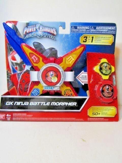Power Rangers Ninja Steel Deluxe DX Ninja Battle Red Morpher With Sound 3 Modes