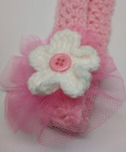 Handmade Crocheted Headband for Babies
