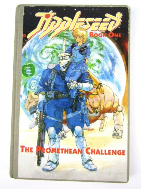 Appleseed The Promethean Challenge Book One by Masamune Shirow 1st Print